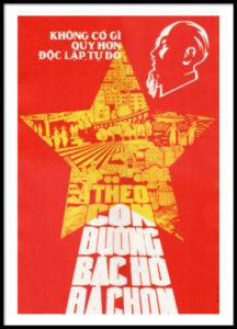 Ho Chi Minh propaganda poster