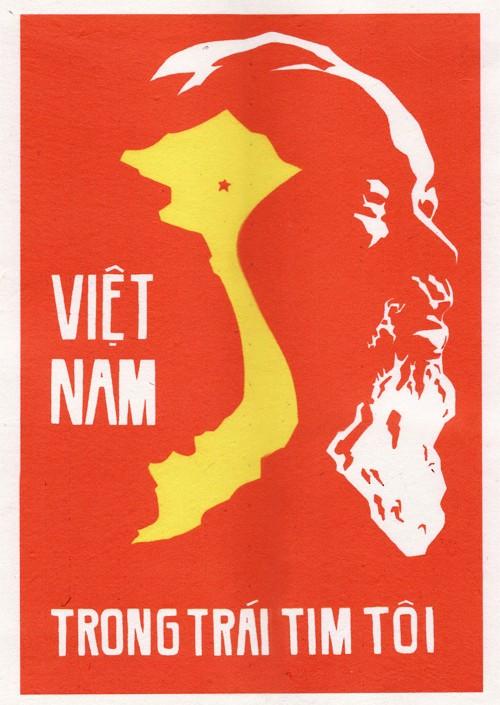 Vietnam In My Heart - Vietnam Propaganda Art Posters