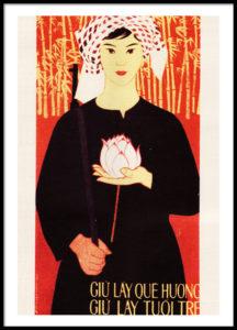 Women in War - Vietnamese propaganda posters